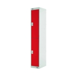 Two Compartment Locker 300 Red