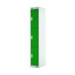 FF DD 3Door Locker 300X300X1800 Grn Door