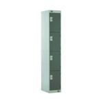 FF DD 4 Door Locker Dk Grey Dr 300mm