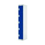 Five Compartment Locker 300 Blue