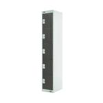 FF DD 5 Door Locker Dk Grey Dr 300mm