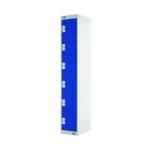 FF DD 6Door Locker 300X300X1800 Blu Door