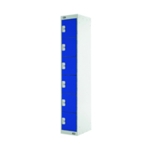 Six Compartment Locker 300 Blue