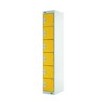 Six Compartment Locker 300 Yellow