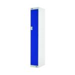 Single Compartment Locker 450 Blue