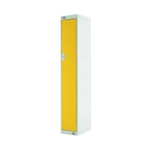 Single Compartment Locker 450 Yellow