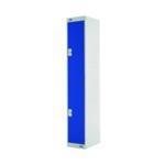 Two Compartment Locker 450 Blue