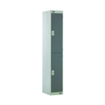 Two Compartment Locker 450 D/Grey