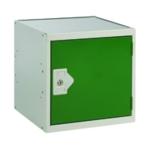 FF DD Cube Locker W300Xd300Xh300mm Green