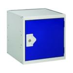 FF DD Cube Locker W450Xd450Xh450mm Blue