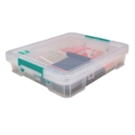 StoreStack Clear 9 Litre Storage Box