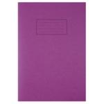 Silvine Purple Tough Shell Exercise Book
