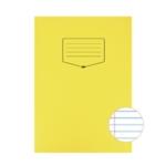Silvine Yellow Tough Shell Exercise Book