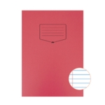 Silvine Red Tough Shell A4 Exercise Book