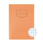 Silvine Orange Tough Shell Exercise Book