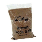 Rock Salt 25kg Brown