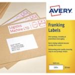 Avery Franking Label 194x39mm FL06