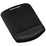 Fellowes Plushtouch Mousepad Black