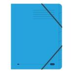 Elba Strongline 7-Part File A4 Blue Pk5