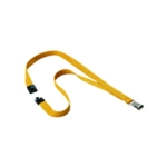Durable 15mm Ochre Txt Lanyard Snap Hook