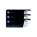 HP 201X HY Laser Toner CMY Pack 3