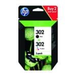 HP 302 Ink Cartridge Combo Blk Col