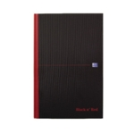 Black n Red B5 Hard Cover Notebook