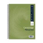 Cambridge Recycled Notebook A4 Plus Pk3