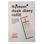 Letts System Desk Refill 2018 5-TSDR