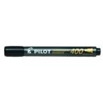 Pilot 400 Chisel Tip Marker Black Pk20