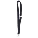 Announce Textile Necklace Black Pk10