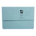 Document Wallet FC Blue Pk50 WX23011A