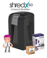 Shredx60 Shredder Deal Comprising:-