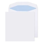 220 x 220 White Plain self -seal Envelope