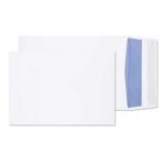 10x7 x1 White GUSSET P/S Env