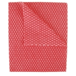 2Work Economy Cloths Red 420x350mm Pk50
