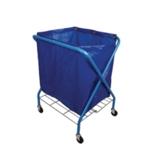 Folding Waste Cart With Vinyl Bag