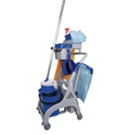 Socket Mop Quick Response Trolley