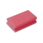 Fingergrip Scourers Red 130x70x40mm Pk10