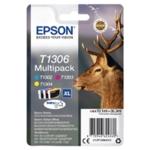 Epson T1306 CMY XHY Cartridge Pk3