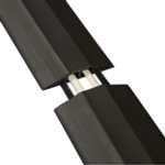 D-Line Floor Cable Cover 83mm Std Blk 9m