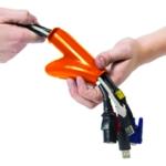 D-Line Cable Zipper 25mm Black 10m