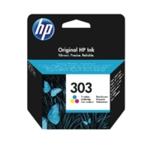 HP Original 303 Tri Colour Ink Cart