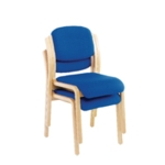 FR FIRST WOOD SIDE CHAIR NO ARMS BLUE