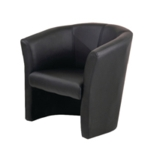 FR FIRST TUB CHAIR BLACK