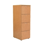FR FIRST FILING CABINET 4 DRAWER OAK