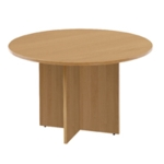 FR FIRST ROUND MEETING TABLE OAK