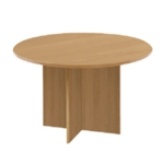FR FIRST ROUND MEETING TABLE MAPLE