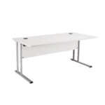FR FIRST RECT CANT DESK 1400 WHITE