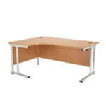FR FIRST RAD L HAND CANT DESK 1600 OAK